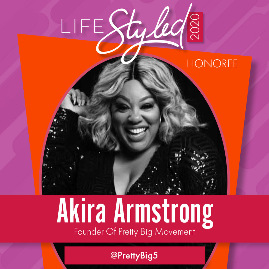 2020 Life Styled Honoree Akira Armstrong
