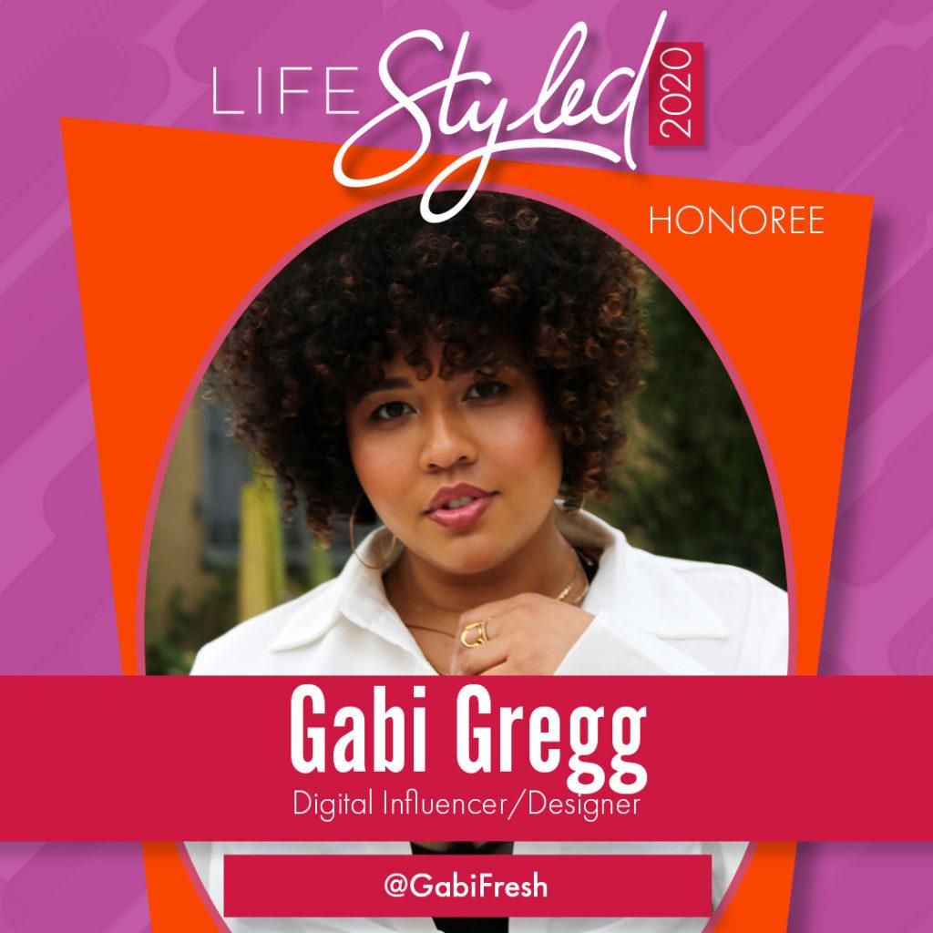 2020 Life Styled Honoree Gabi Gregg