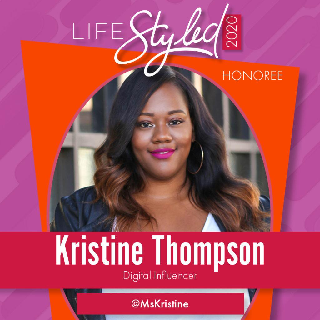 2020 Life Styled Honoree Kristine Thompson