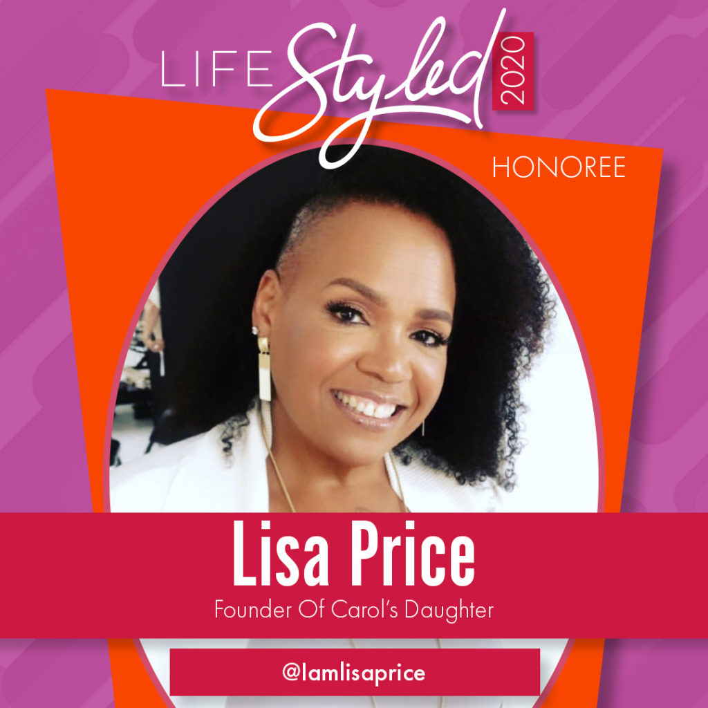 2020 Life Styled Honoree Lisa Price